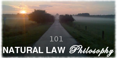natural law philosophy 101