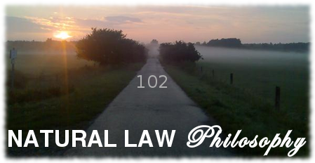 natural law philosophy 102